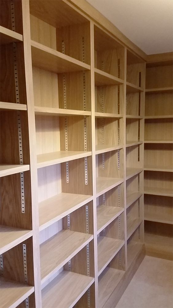 Bookcase - Oak Veneered
