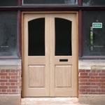 Chobham Hardwood Door