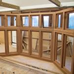 Hardwood bespoke window frame