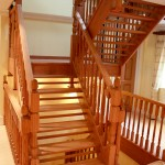 Open Wooden Stairs