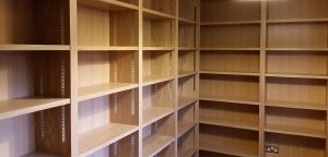 Bookcase - Veneered Oak